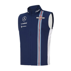 Bezrękawnik Team Navy Williams Martini Racing Fan Wear
