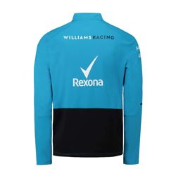 Bluza męska Midlayer niebieska Team Williams Racing 2019