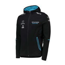 Bluza męska z kapturem Hoodie czarna Team Williams Racing 2019